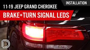 Jeep Cherokee Brake Light Bulb How To Install 2011 2019 Jeep Grand Cherokee Brake Turn Signal Leds
