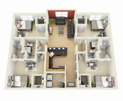 4 bedroom house interior. comfortable four bedroom houses 17 best ideas about 4 house on pinterest interior