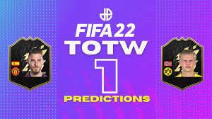 FIFA 22 TOTW 1 Predictions | FUT Team of the Week - Dexerto