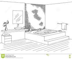 bathroom clipart black and white. Modren Bathroom Bathroom Clipart Black And White 2  Station Inside  1229 For