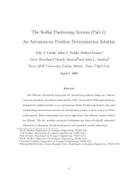 PDF) The Stellar Positioning System | Michael Swanzy - Academia.edu