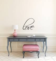 Wall Writing Decor Bedroom Wall Decal Love Quote Love Wall Sticker Saying Wall Words