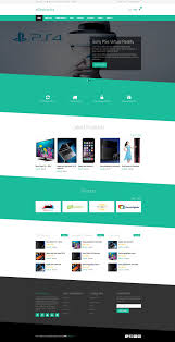Free Ecommerce Website Templates Mesmerizing 28 Best Ecommerce Website Templates 28 Free And Premium VNASDESIGN