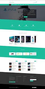 Ecommerce Website Template Fascinating 28 Best Ecommerce Website Templates 28 Free And Premium VNASDESIGN