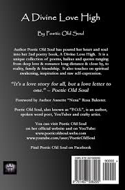 A Divine Love High Poetic Old Soul 9781497588295 Amazoncom Books