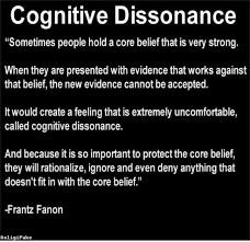 Image result for explosive cognitive dissonance