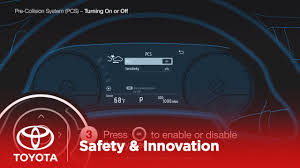Prius Pcs Light Turning On And Off Pre Collision System Toyota