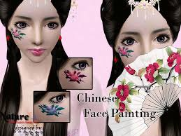 chinese face painting juzhitu