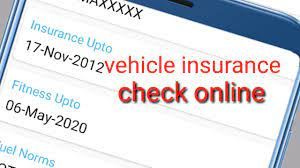 Bike theft insurance covers your bicycle against: How To Check Vehicle Insurance Details Online Youtube