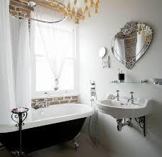 bathrooms vintage bathroom with black clawfoot bathtub printable art small bathroom accessories simple makeovers