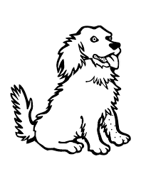 Dogs To Color For Children Dogs Kids Coloring Pages