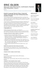 Teacher English Resume Format Cv English Resume Format Word English ...