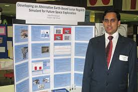 metro richmond science fair richastro vijay took advantage of an intern program last summer at langley to produce his project he used a sample of soil from mauna kia hawaii to see if it might