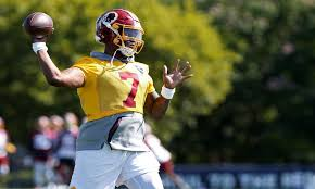 Washington Redskins Qb Depth Chart Former Ohio State Qb Dwayne Haskins Listed 3rd On Redskins