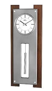 bulova art deco wall clock style