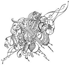 Bella One Piece Gol D Roger Disegni Da Colorare Con Disegni Escher