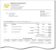 Professional Service Invoice Template Invoice Format For Consultancy