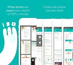 Resume App Free Awesome Free Resume App Foodcityme