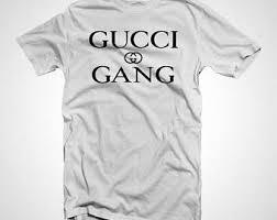 gucci shirt. gucci gang t-shirt shirt