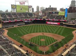 Target Field Baseball Seating Chart Target Field Section 315 Row 1 Home Of Minnesota Twins
