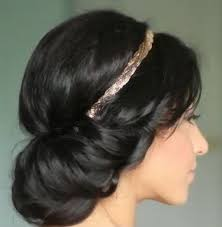 Roztomilý A Snadný účes Alá Princezna Jasmína Vlasy Incz