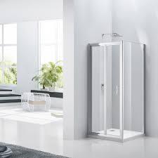 aquaglass purity 6mm bifold shower door