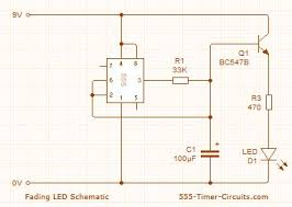 index 3 led and light circuit circuit diagram seekic com up down fading led