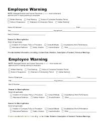 Written Warning Letter Template First Warning Letter Templates 7