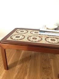 vintage mid century g plan teak tiled coffee table products astro nz