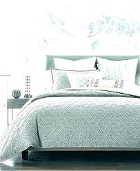 hotel collection bedding pleated stripe cotton king duvet cover white clearance macys col
