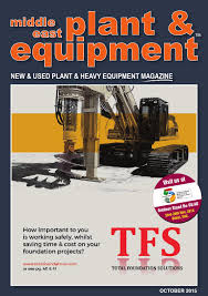 Kato Kr45h V Load Chart Middle East Plant Equipment October 2015 Edition By