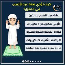 """مبتدا på Twitter: """"إنفوجراف.. كيف تؤدي صلاة عيد الأضحى في المنزل ؟  #عيد_الأضحى #صلاة_العيد #عيد_الأضحى_المبارك… """""""