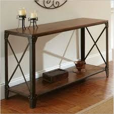 american country wrought iron vintage desk. American Country Wrought Iron Wood Console Table Desk Side Vintage Tables For Sale C