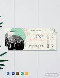 concert ticket maker 10 free concert ticket templates in adobe illustrator ai