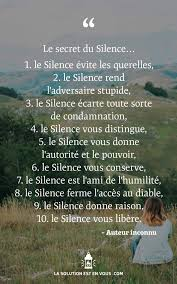 Citation Sur Silence Silvermoondancersbreda
