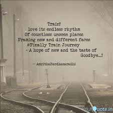 Endless Love Quotes Cool Train Love Its Endless R Quotes Writings By Amritha