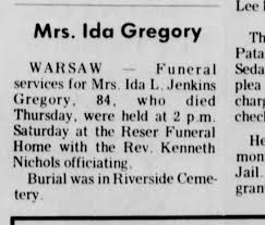 Rev. Kenneth Nichols officiates a funeral - Newspapers.com