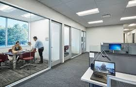 Modern office space Open Plan Modern Office Space Martignetti Glassdoor Modern Office Space Martignetti Office Photo Glassdoor