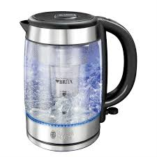 brita water filter. Russell Hobbs 20760 Purity Brita Water Filter Kettle With Blue Light Illumination | Robert Dyas T