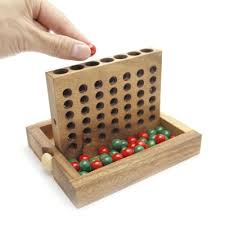 Game With Stones And Wooden Board Wooden Board Games 41