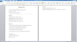 Cover Letter How To Build A Resume In Word How To Build A Resume