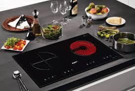 Bếp điện từ hồng ngoại đôi cảm ứng KAFF KF-073IC + Tặng Máy hút mùi nhà bếp  cổ điển 7 tấc