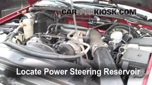 check power steering level oldsmobile bravada 1998 2001 2001 check power steering level oldsmobile bravada 1998 2001 2001 oldsmobile bravada 4 3l v6