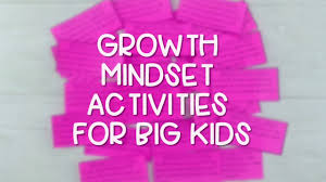 Growth Mindset Activities For Elementary Students Stop Hearing I