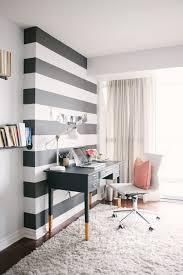 feminine home office. Black-and-White-Office-Wall-Feminine-Home-Office- Feminine Home Office