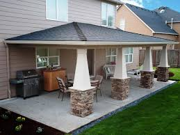 Patio Design Modern Backyard Covered Patio Ideas With Fire Pit This Is