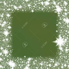 green snowflake border.  Snowflake Border From White Snowflakes On A Green Background With Space For Adding  Your Content Stock On Green Snowflake O