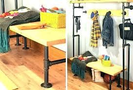pipe clothing rack wall mounted diy beautiful pipe clothing rack rack pipe clothing rack