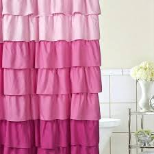 little girl shower curtain stylish little girl shower curtains decor with whimsy girl pretty things ruffle