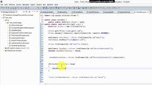 Step by Step Selenium Tutorial with JAVA - check or uncheck the ...